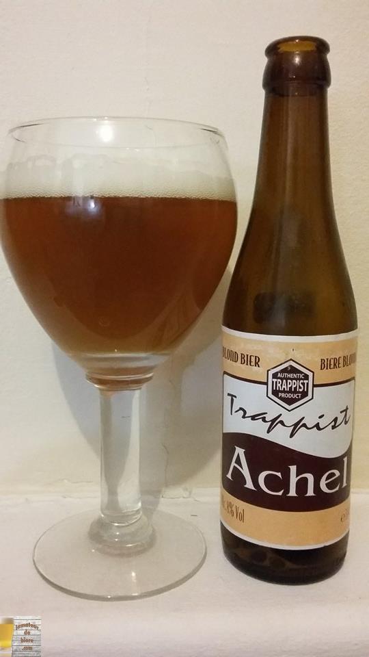Achel 8 Blond de Brouwerij der Trappistenabdij De Achelse Kluis (Belgique)