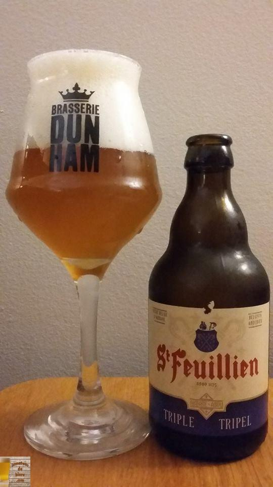 St-Feuillien Triple de la Brasserie St-Feuillien (Belgique)