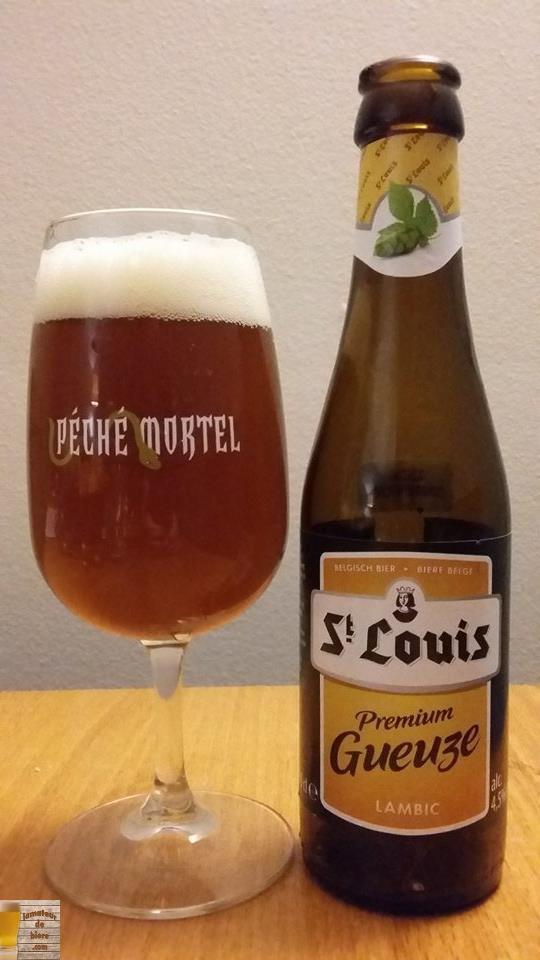 St. Louis Premium Gueuze de Van Honsebrouck (Belgique)