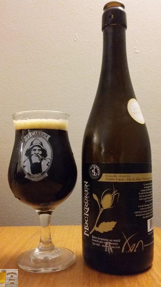 Vieillissement de la bière : MacKroken Flower Grande Réserve du Bilboquet