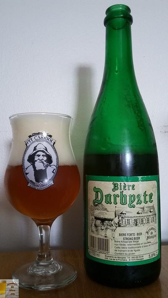 Bière Darbyste de Blaugies (Belgique)