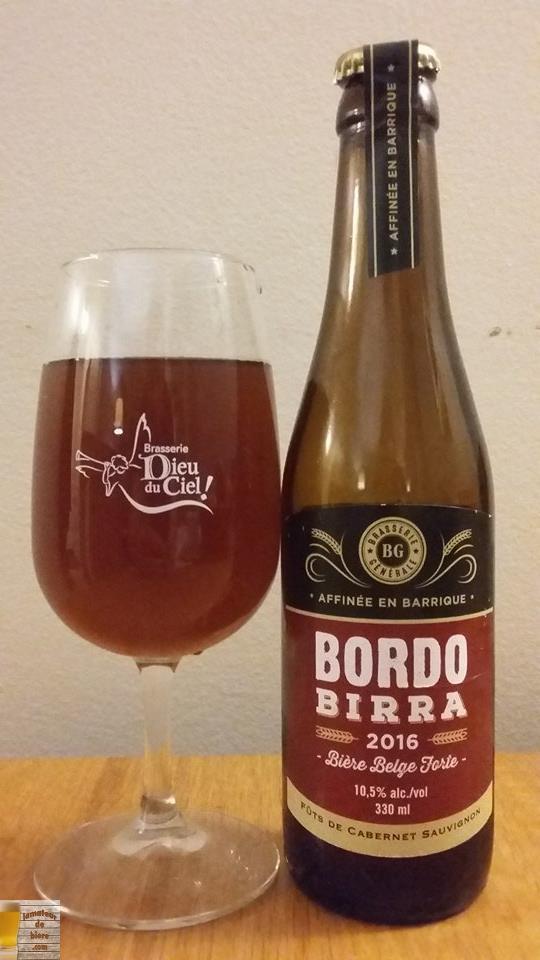Bordo Birra de Brasserie Générale