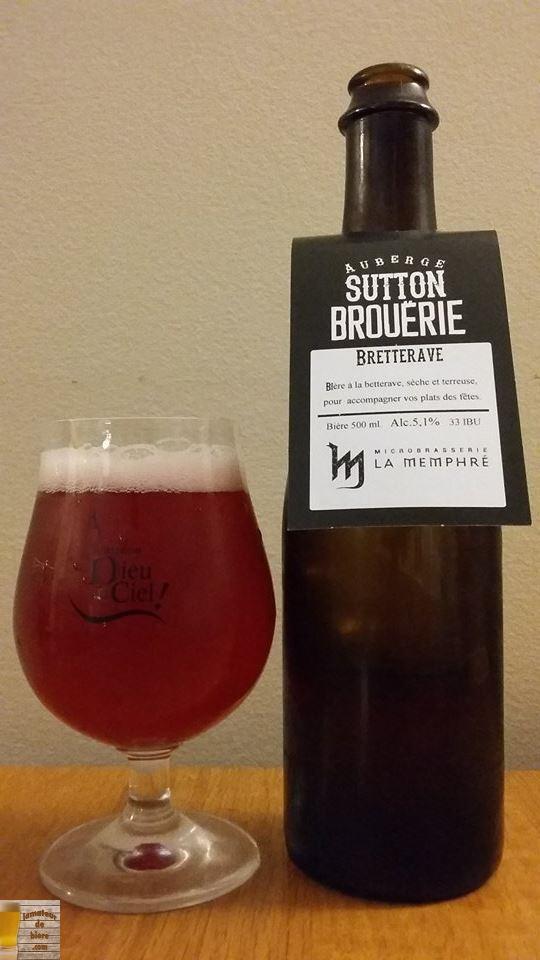 Bretterave de Sutton Brouërie et Memphré