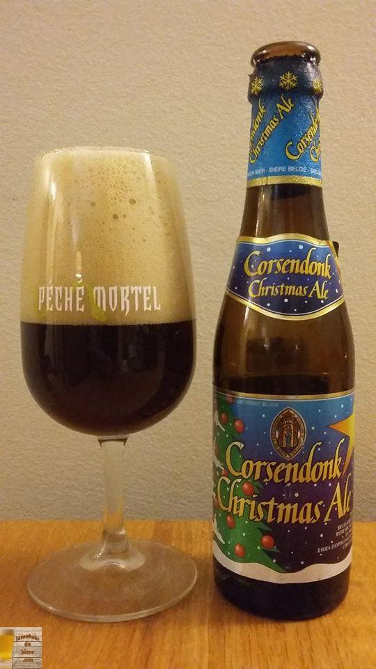 Corsendonk Christmas Ale de la Brasserie du Bocq (Belgique)