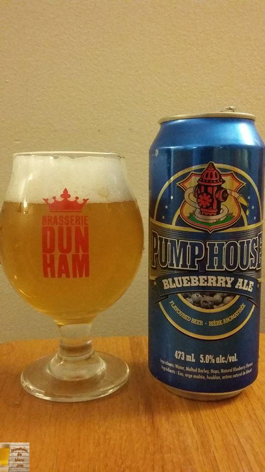 Blueberry Ale de Pump House Brewery (SAQ)