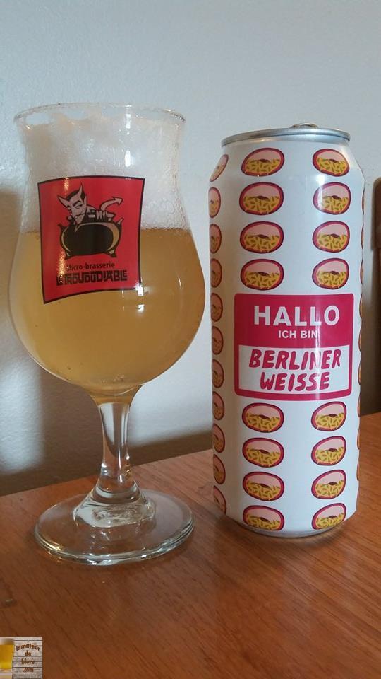 Hallo Ich Bin Berliner Weisse PassionFruit de Mikkeller (Danemark)