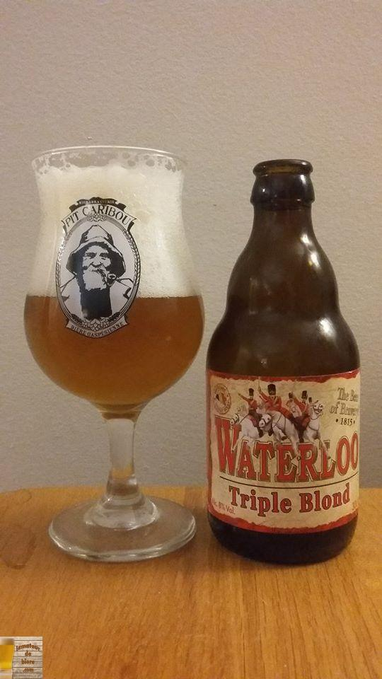 Waterloo Triple Blond de John Martin (Belgique)