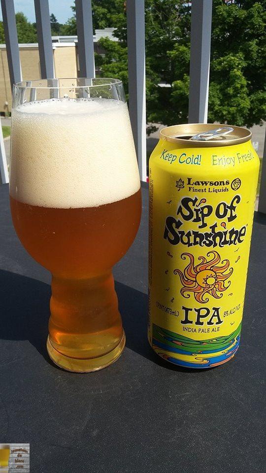 Sip of Sunshine de Lawsons's Finest Liquids (Vermont)