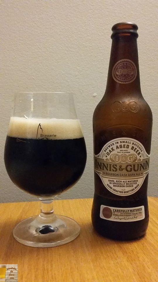 Innis & Gunn Bourbon Cask Dark Ale de Wellpark (LCBO)