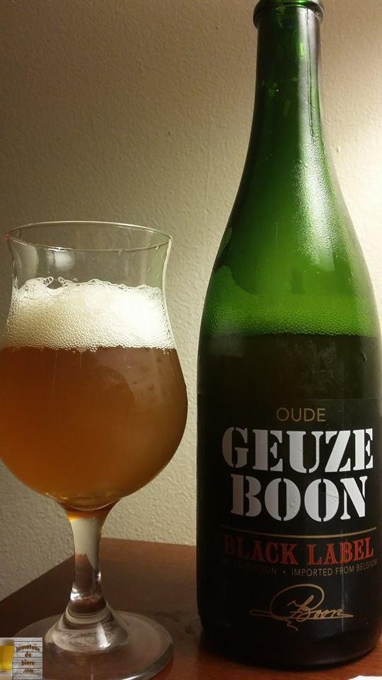 Geuze Boon Black Label de Boon (Belgique)