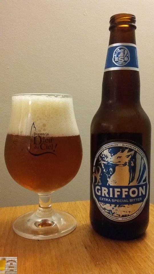 Griffon Extra Special Bitter de McAuslan