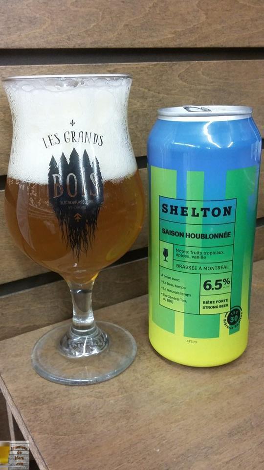 Saison Houblonnée de la Bièrerie Shelton