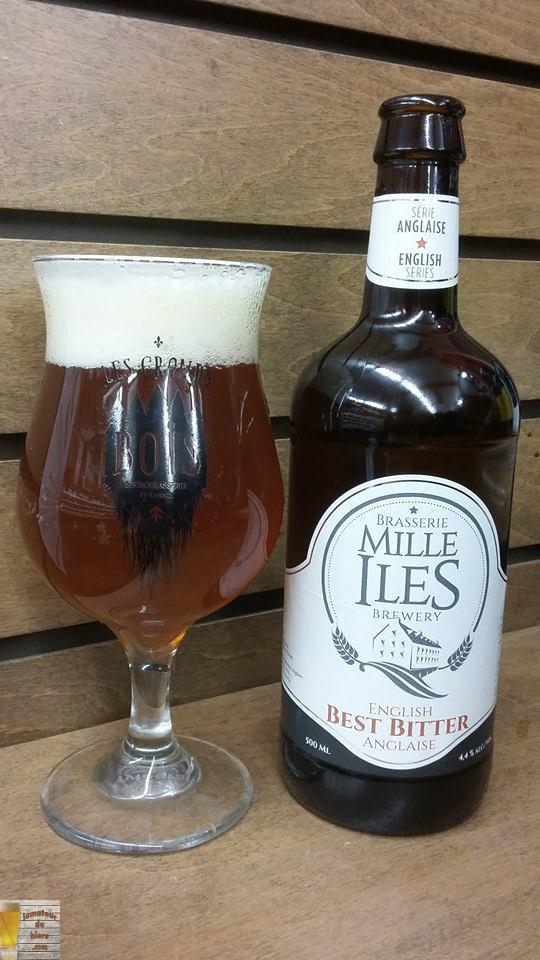 Best Bitter Anglaise de Mille Îles