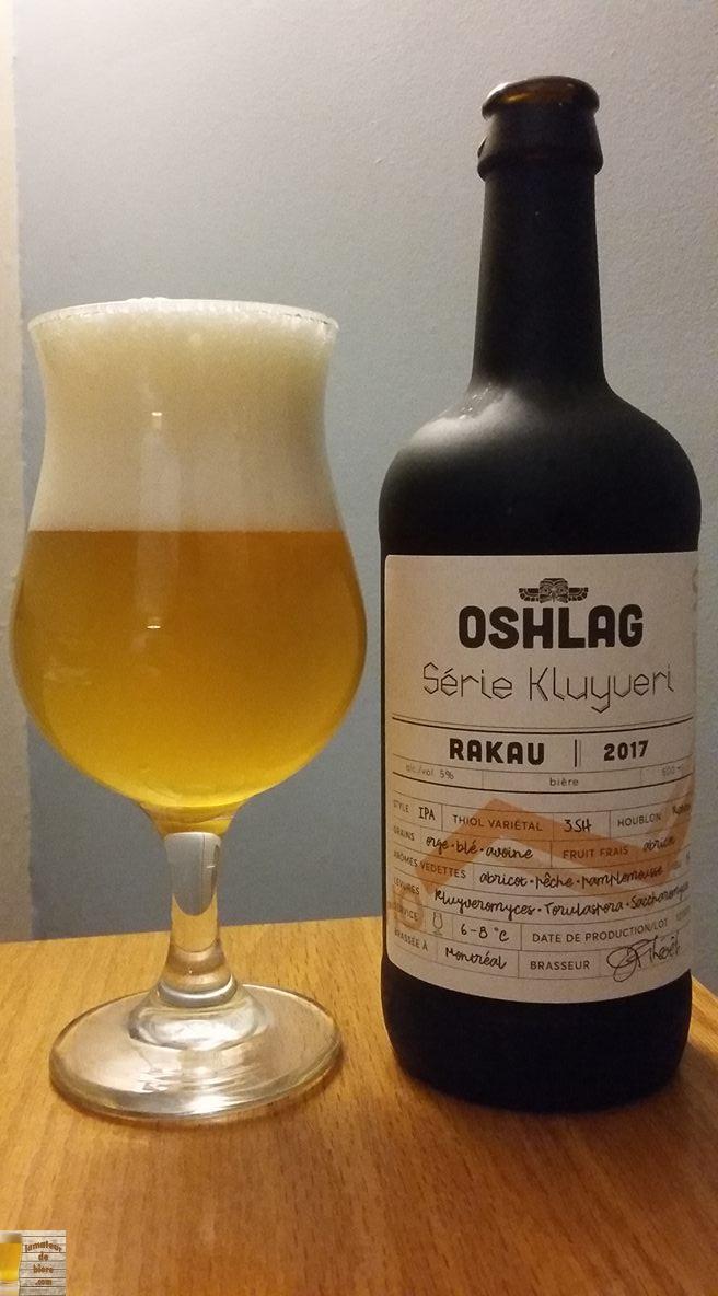 Série Kluyveri d'Oshlag