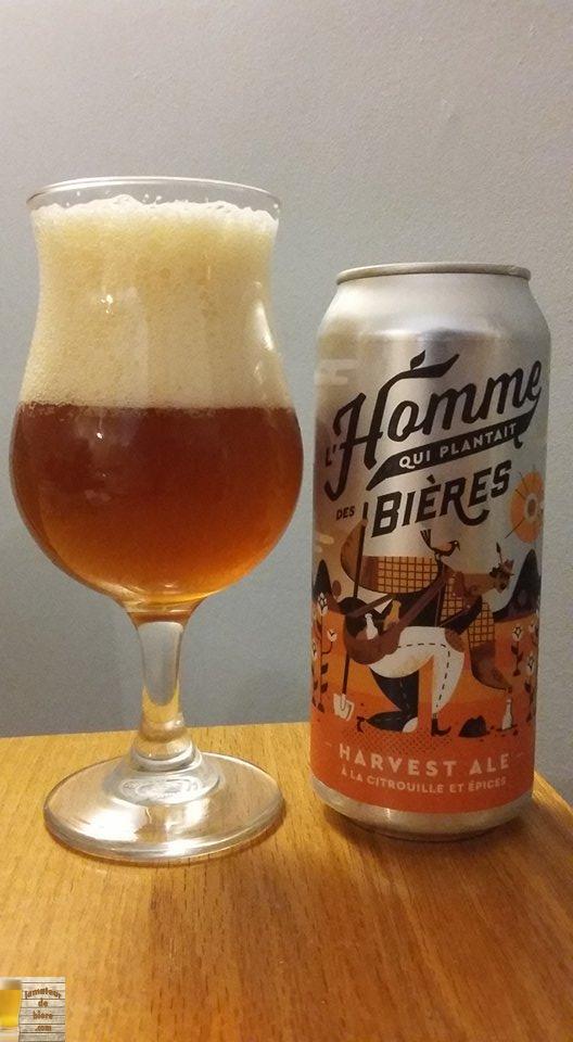 Harvest Ale à la Citrouille de la Ferme Brassicole des Cantons
