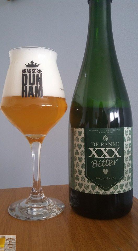 XXX Bitter de De Ranke (Belgique)