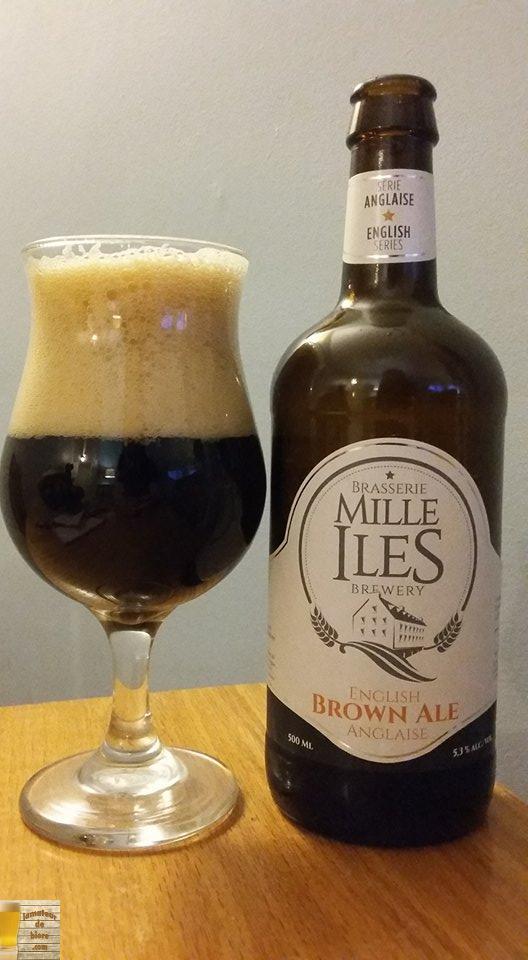 Brown Ale Anglaise de Mille Îles