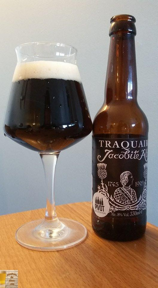 Jacobite Ale de Traquair House (Écosse)