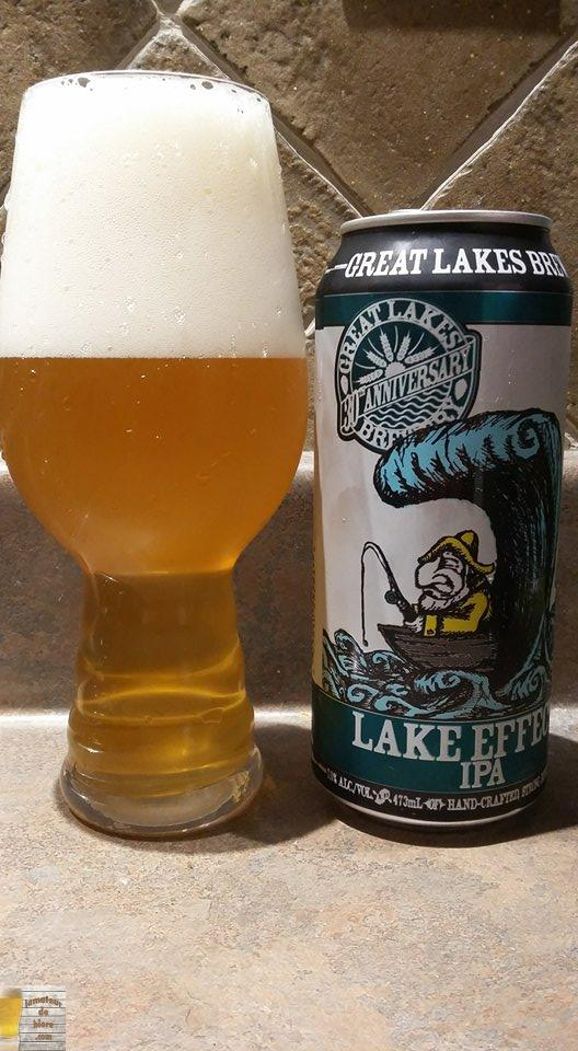 Lake Effect IPA de Great Lakes Brewery (Ontario)