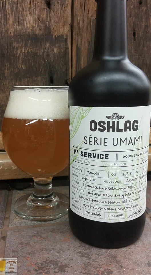1er Service d'Oshlag