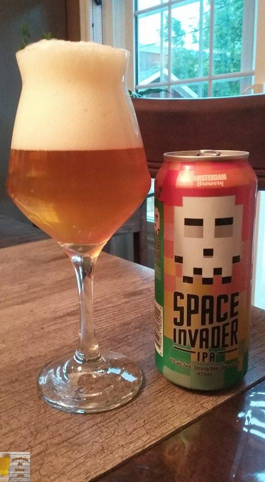 Space Invader d'Amsterdam Brewery (Ontario)