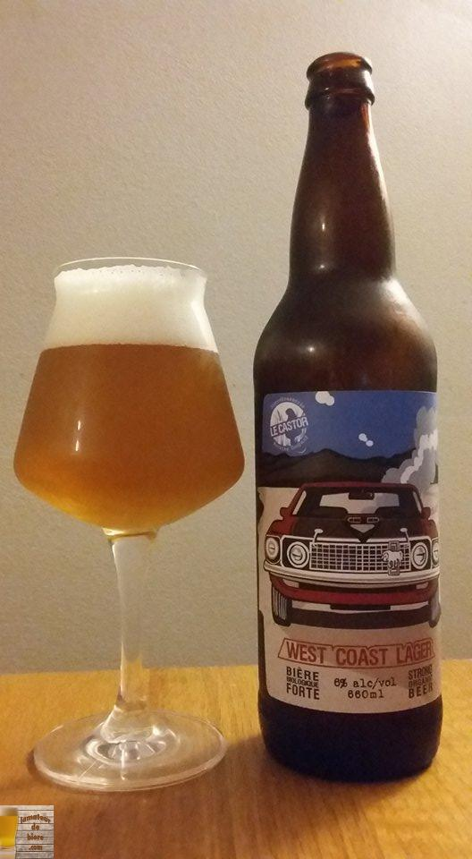West Coast Lager du Castor
