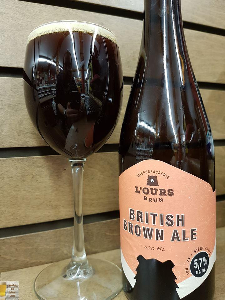 British Brown Ale de l'Ours Brun