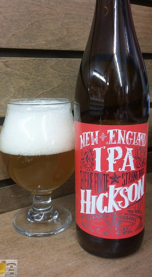 Hickson New England IPA des 2 Frères