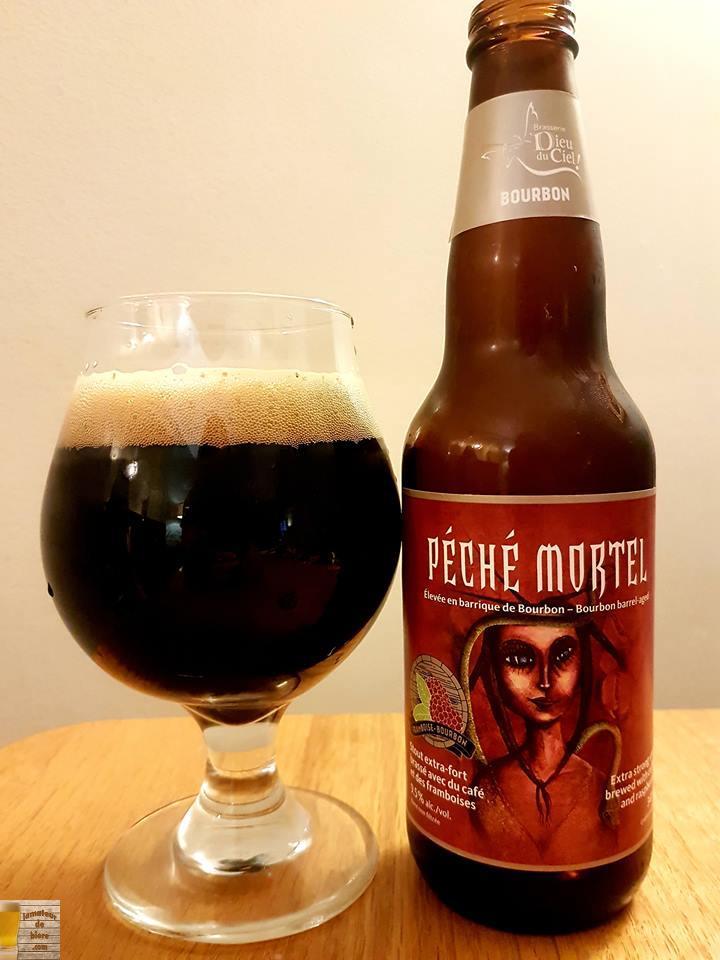 Péché Mortel Framboise Bourbon de Dieu du Ciel!