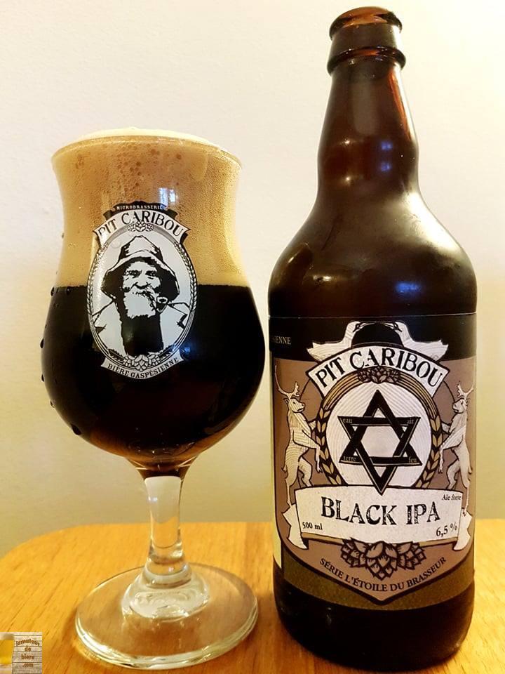 Black IPA de Pit Caribou