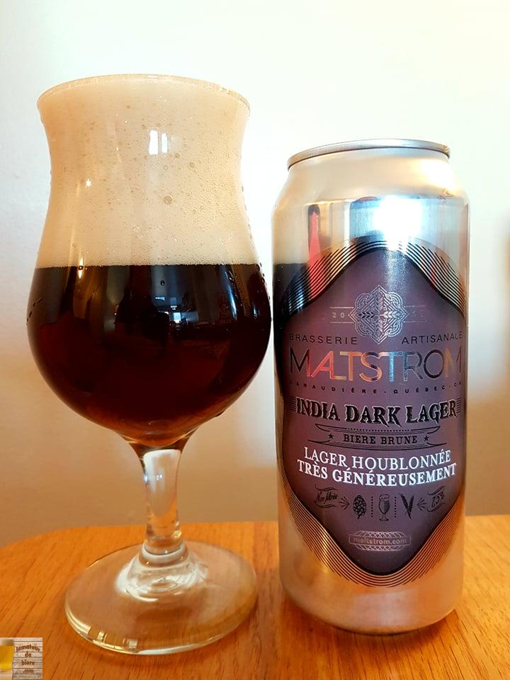 India Dark Lager de Maltstrom