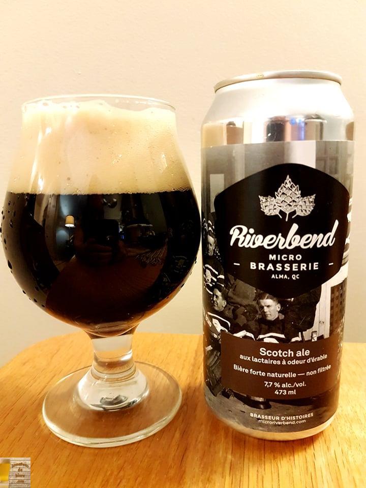 Scotch Ale aux Lactaires à odeur d'érable de Riverbend