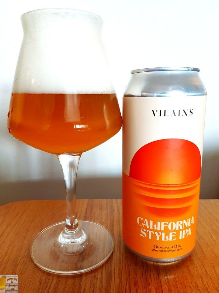 California Style IPA de Vilains Brasseurs