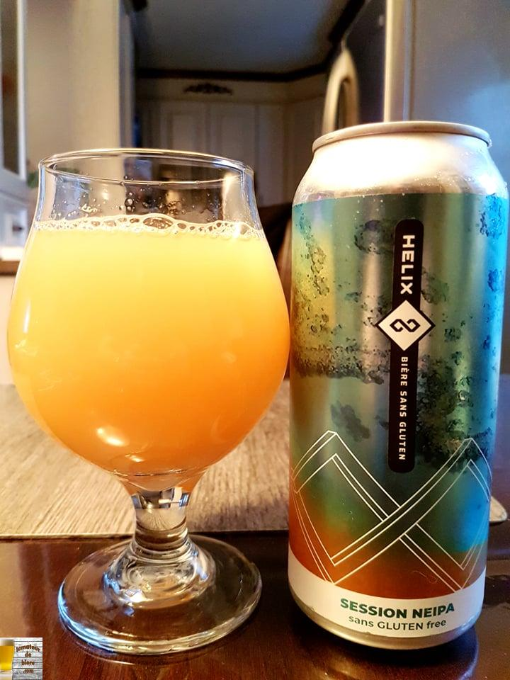 Helix Session NEIPA de Nouvelle-France
