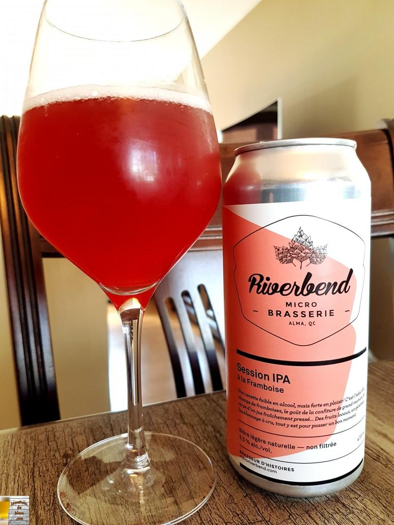 Session IPA à la framboise de Riverbend