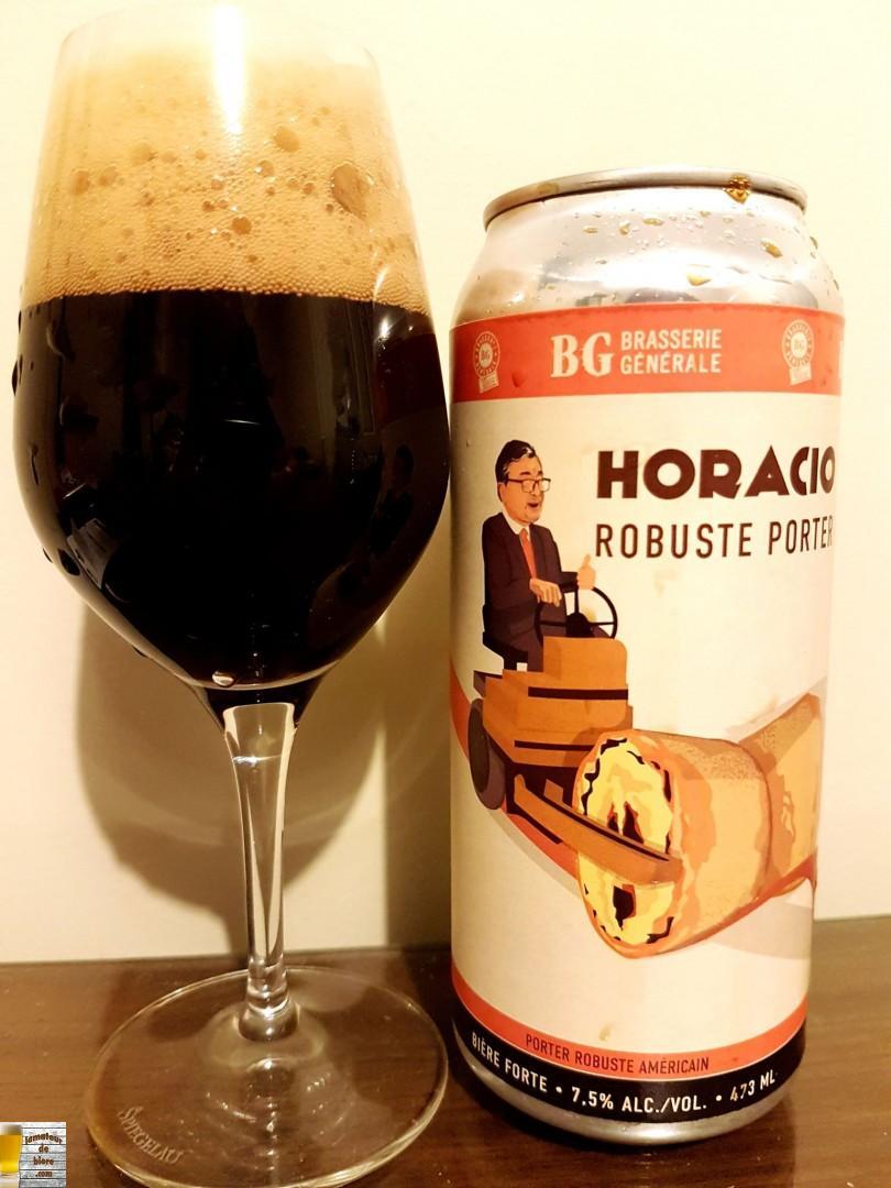Horacio Robuste Porter de Brasserie Générale