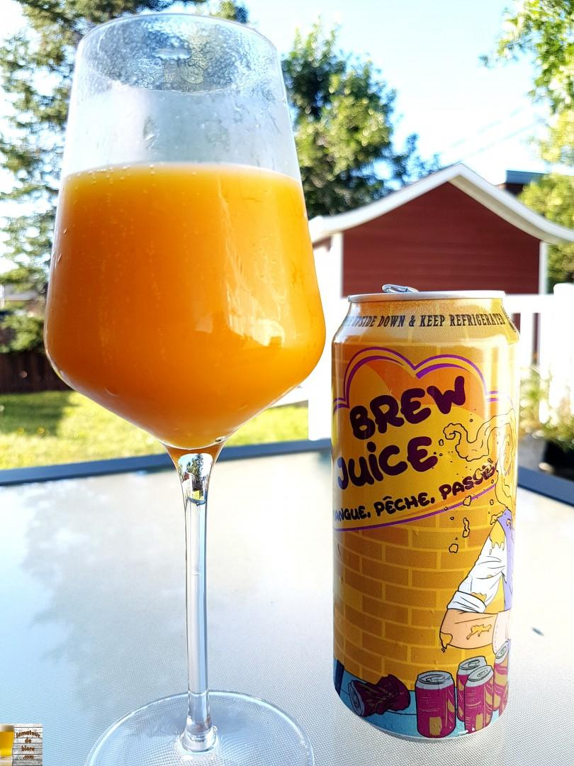 Brew Juice Mangue, Pêche, Passion de BreWskey