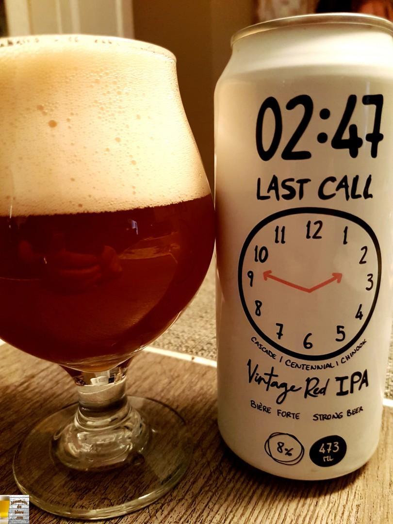 02:47 Last Call d'Harricana