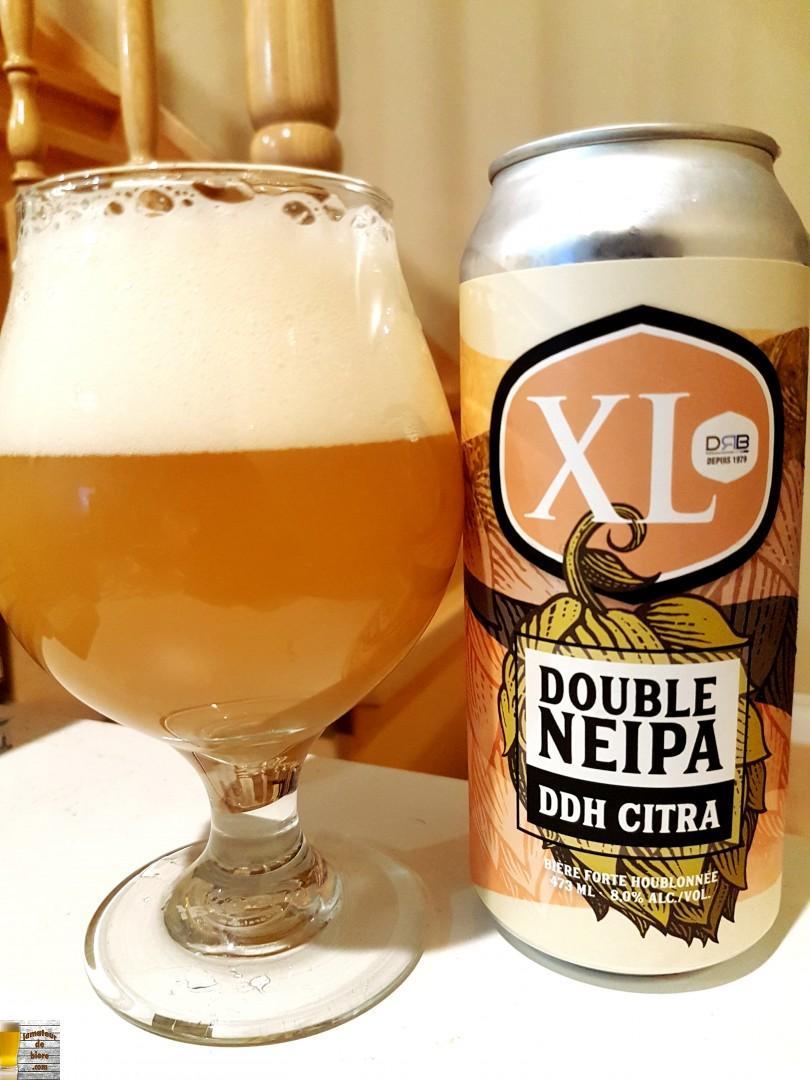 XL Double NEIPA DDH Citra de Brasseurs sur Demande