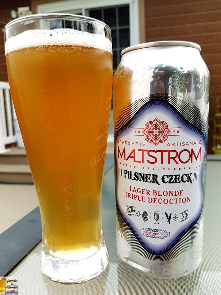 Pilsner Czeck de Maltstrom