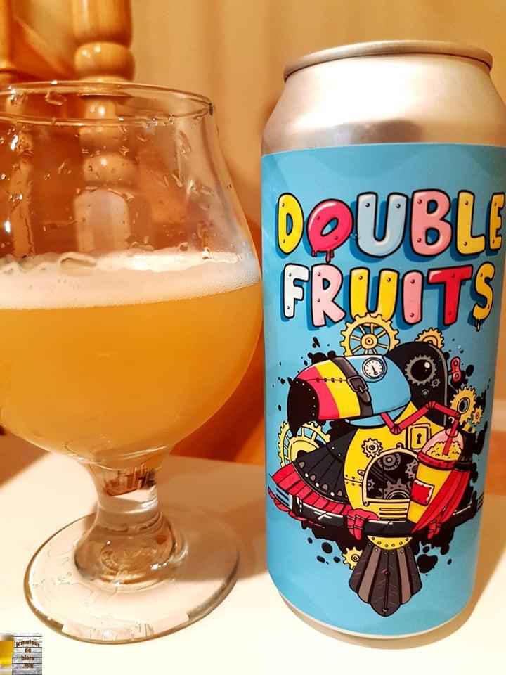 Double Fruits de la Microbrasserie Nouvelle-France