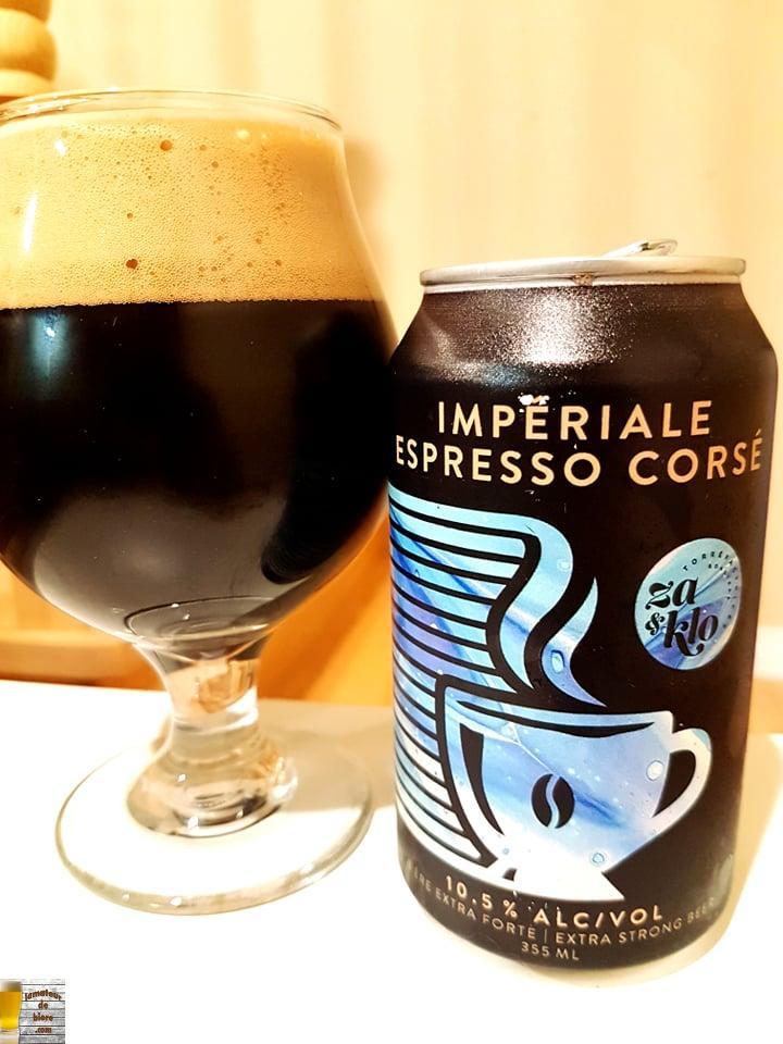 Impériale Espresso Corsé Za & Klo