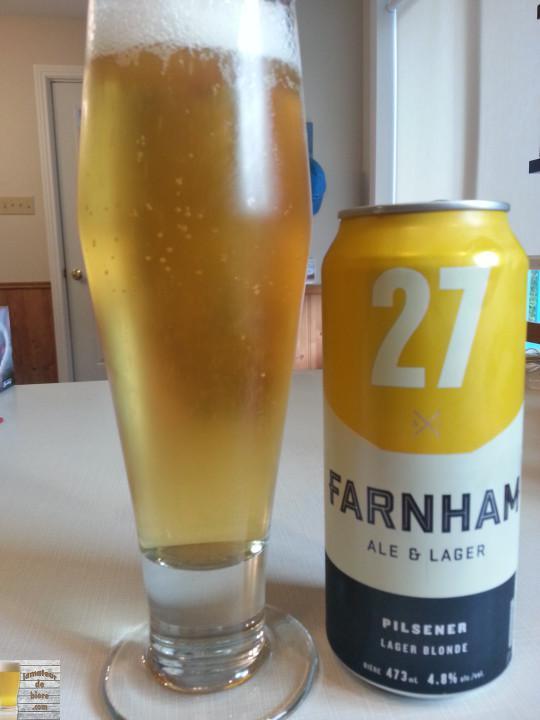 27 de Farnham Ale & Lager