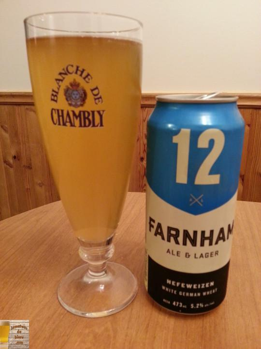 12 de Farnham Ale & Lager