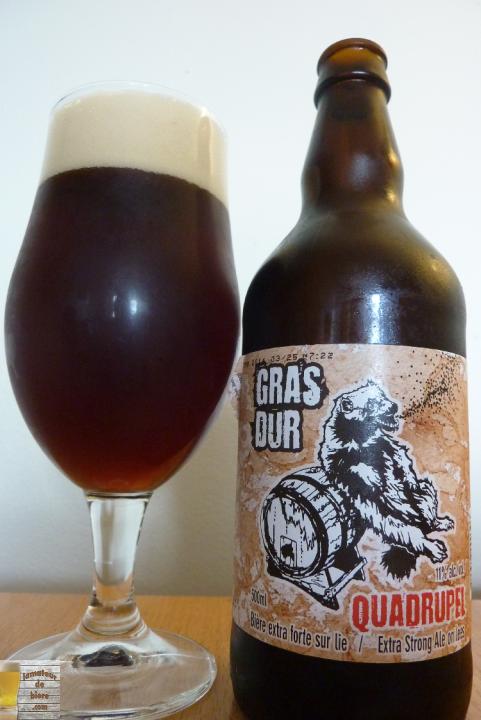 Gras Dur Quadrupel de La Chouape