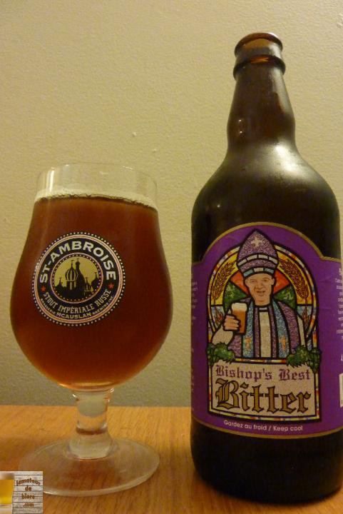 Bishop's Best Bitter du Lion d'Or