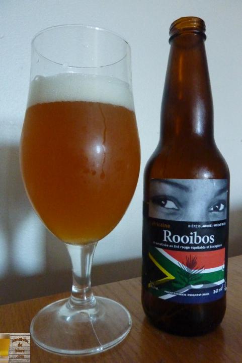 Rooibos L'Africaine de Brasseur de Montréal