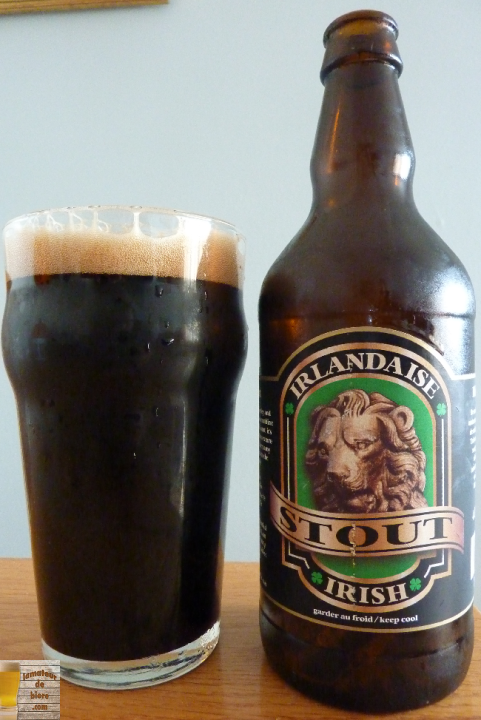Stout Irlandaise du Lion d'Or