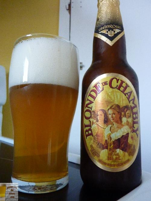 Blonde de Chambly d'Unibroue