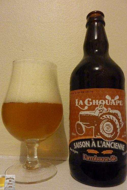 Saison à l'Ancienne Farmhouse Ale de la Chouape